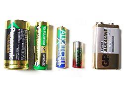 Alkaliska batterier